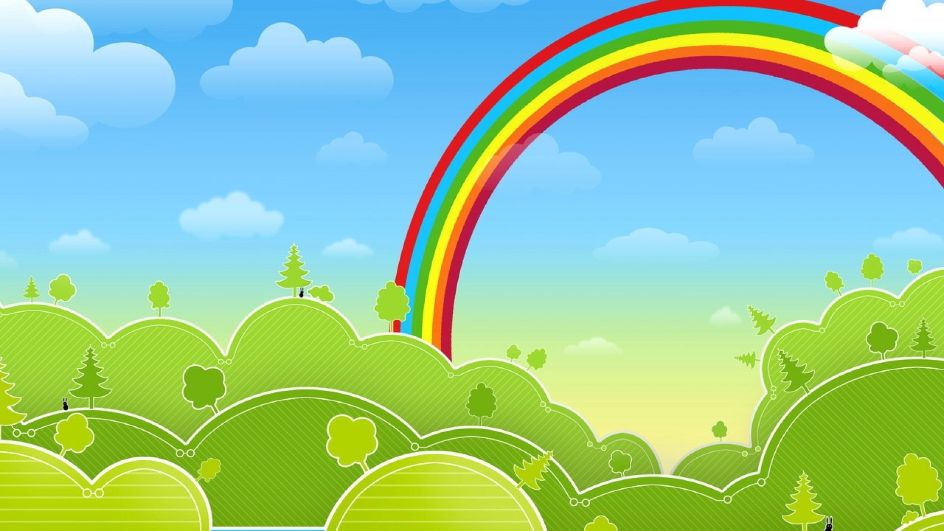 Rainbow Drawing Pictures at GetDrawings.com | Free for personal use ...