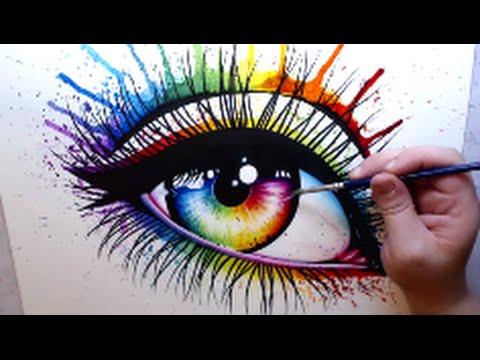 480x360 Rainbow Eye