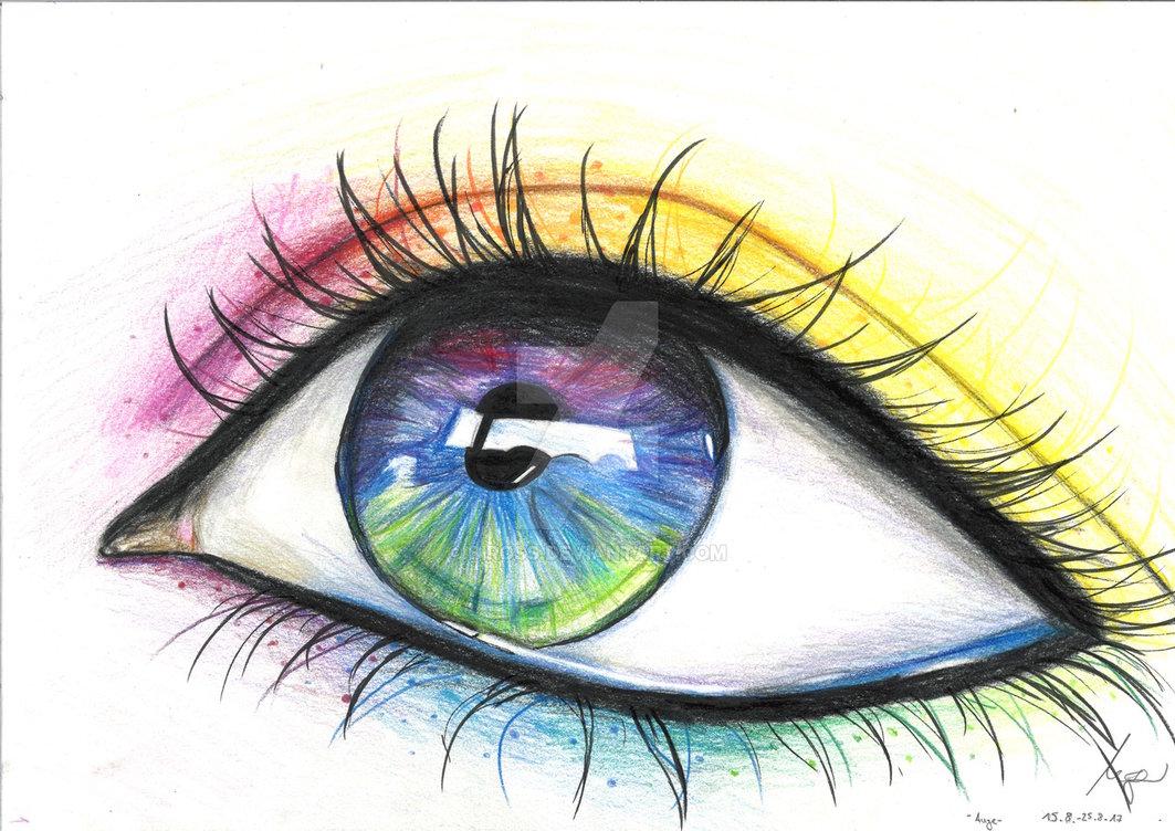 1063x752 Rainbow Eye By Biross