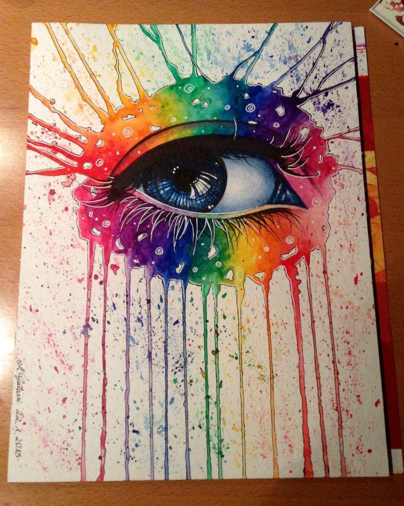 800x1000 Rainbow Eye By Deadoceans