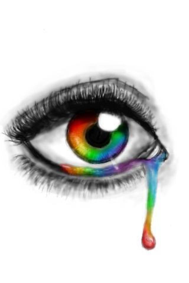 640x960 Rainbow Eye By Drawcastspecials