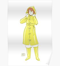 210x230 Raincoat Drawing Posters Redbubble