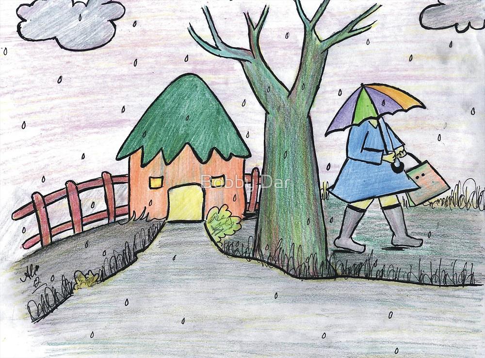 1000x737 A Rainy Day By Bobby Dar Redbubble