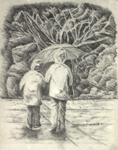 392x500 Drawing Images Rainy Day Wallpaper And Background Photos (34245942)