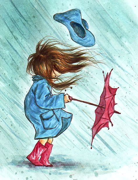 474x616 Rainy Day Art Drawing Inspiration Illustration Artsy