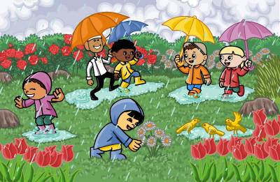Rainy Day Drawing For Kids at GetDrawings.com | Free for personal ...