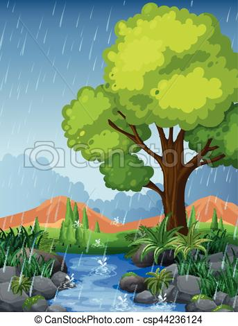 rainy season drawing at getdrawings com free for personal use