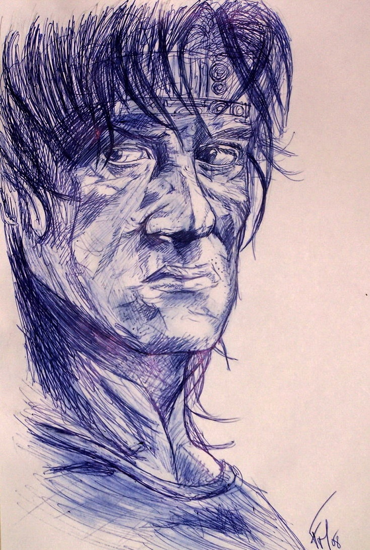 734x1089 38 Best Rambo Images On Film Posters, Figure Drawings