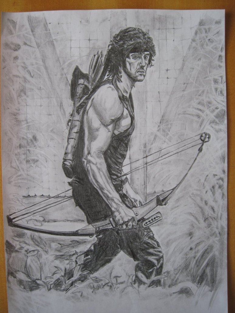 774x1032 Rambo 2 By Powmay