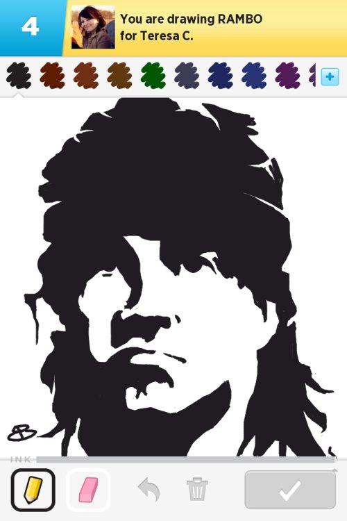 500x750 Rambo Drawings