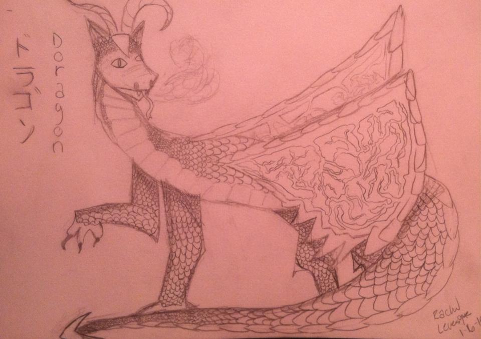 960x676 I Drew A Dragon!!! Random Stuff I Draw Random Stuff