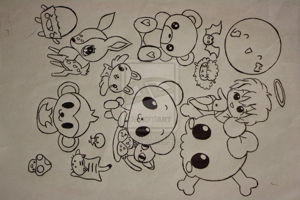 Random stuff drawing at free for for Random cute drawings