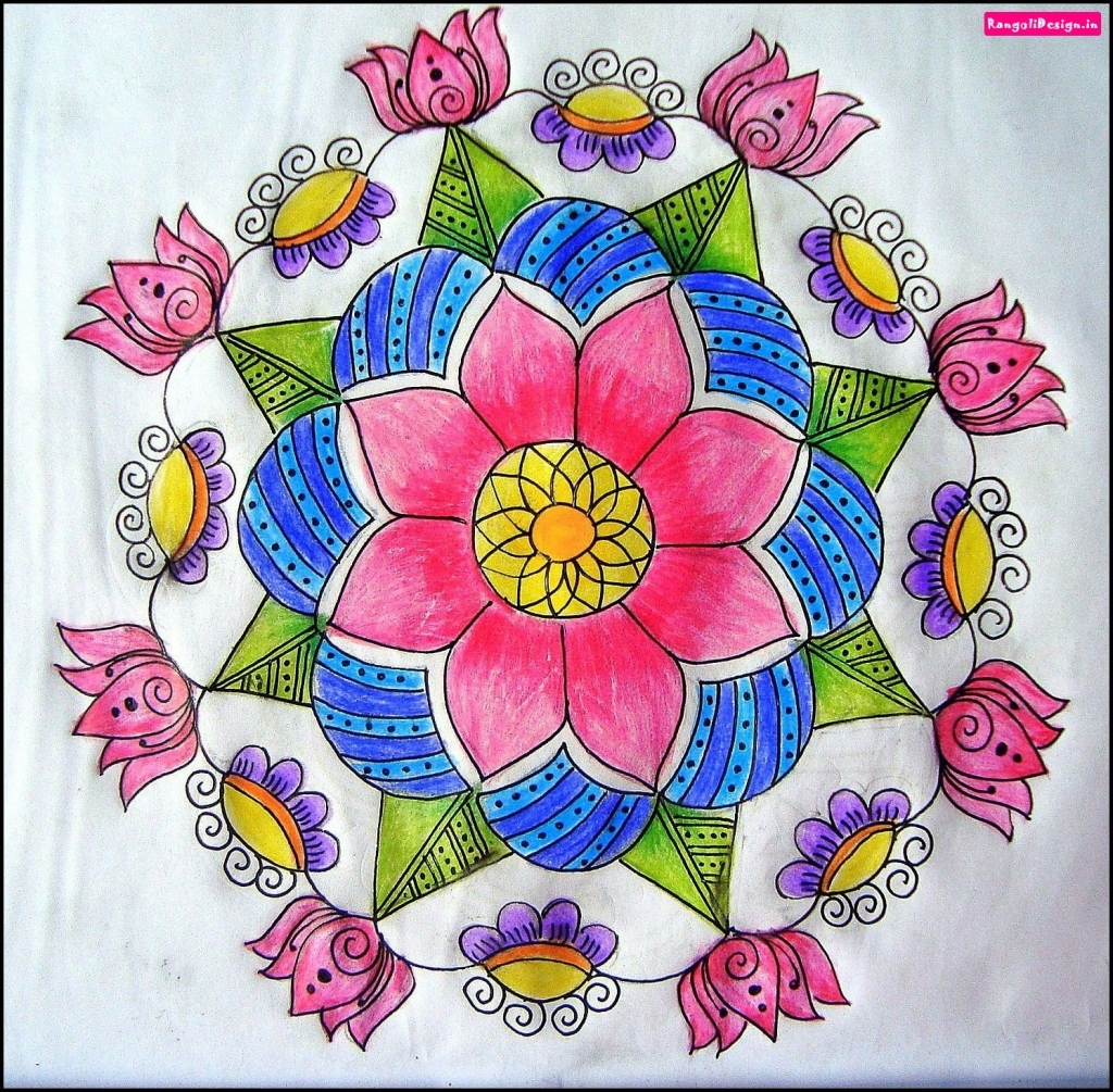 1024x1005 Flower Drawing For Rangoli Flower Drawing Rangoli Flower Drawing