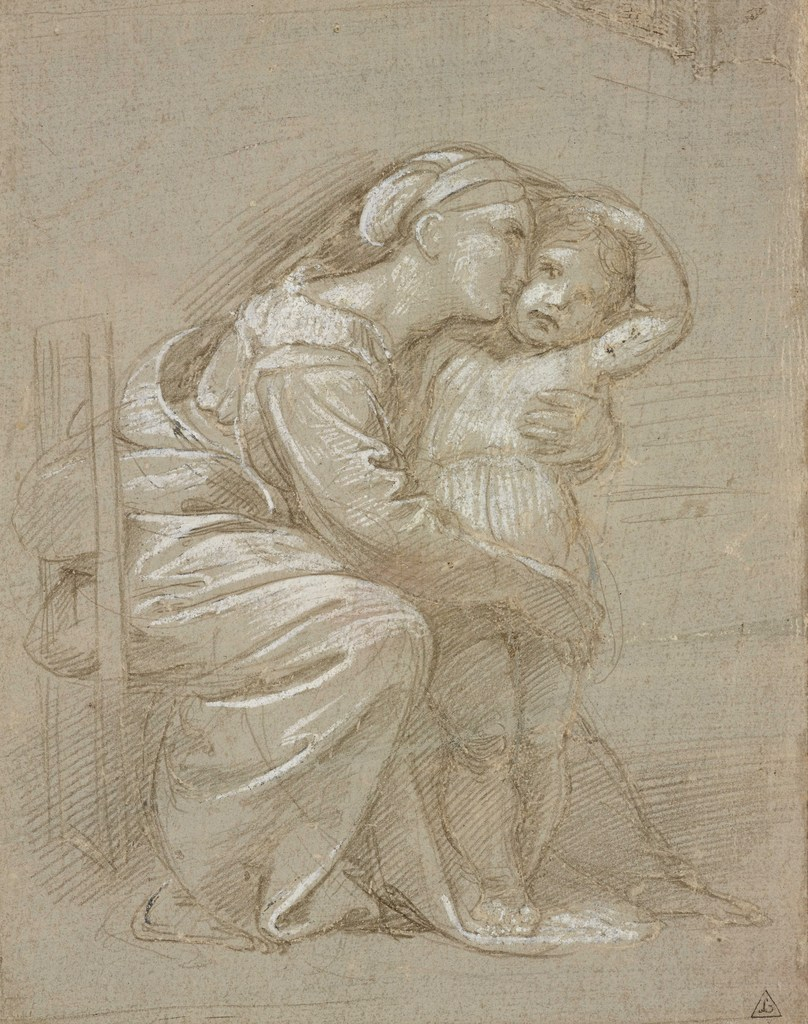808x1024 Once In A Lifetime Exhibition Of Raphael Drawings
