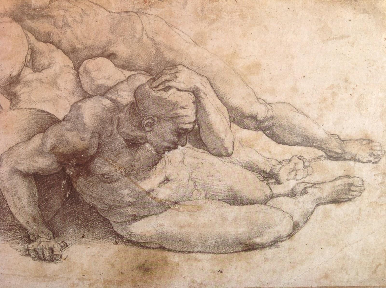 1600x1195 Raphael (Raffaello Sanzio), 1483 1520, Italian, Three Nude Men