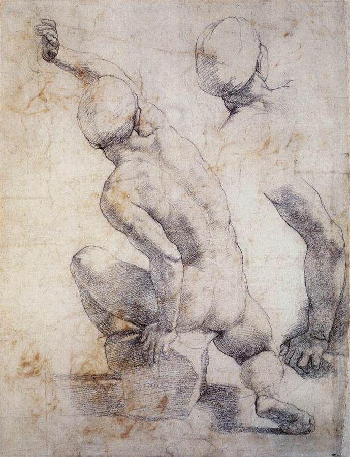 689x900 Raphael Master Draftsman Draw, Renaissance And Masters