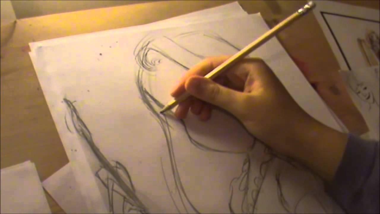 1280x720 How To Draw Disney's Tangled Rapunzel