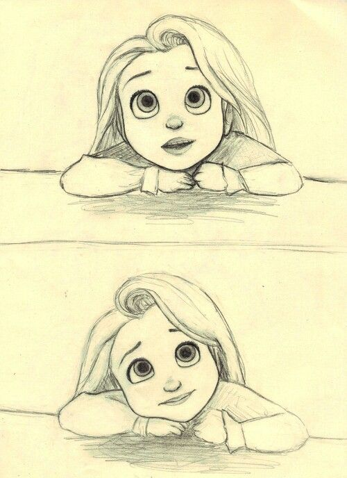 500x688 So Cute Tangled Draw, Sketches And Drawing Ideas