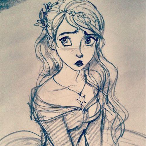 500x499 Best 25 Rapunzel Sketch Ideas On Rapunzel Drawing