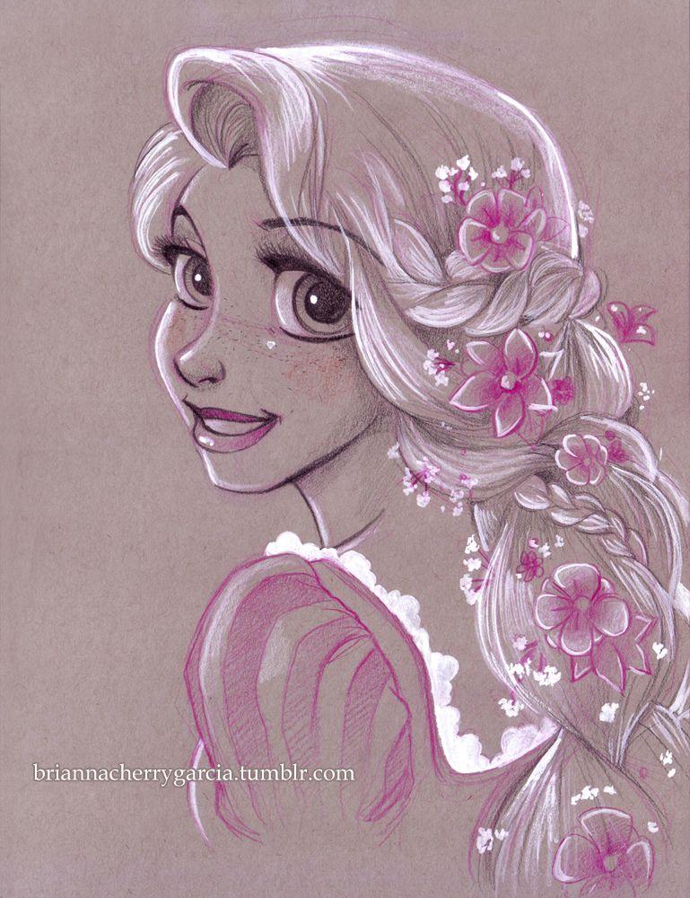 769x1000 Rapunzel By Brianna Garcia