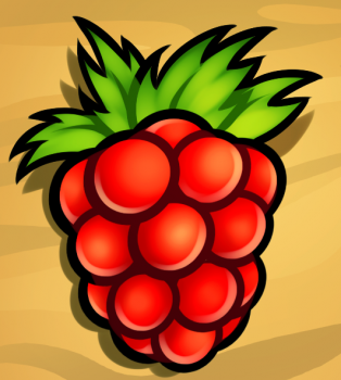 314x350 How To Draw How To Draw A Raspberry