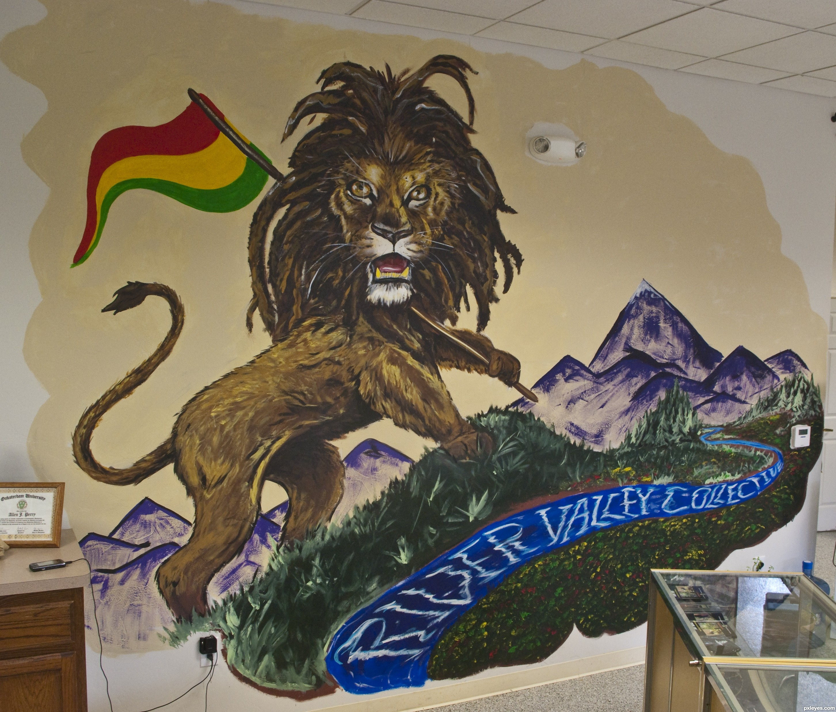 2905x2475 Rasta Lion Picture, By Gotmeamuse For Cats Td Drawing Contest