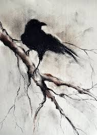 190x265 Image Result For Raven Drawing Raven Tattoo Ravens