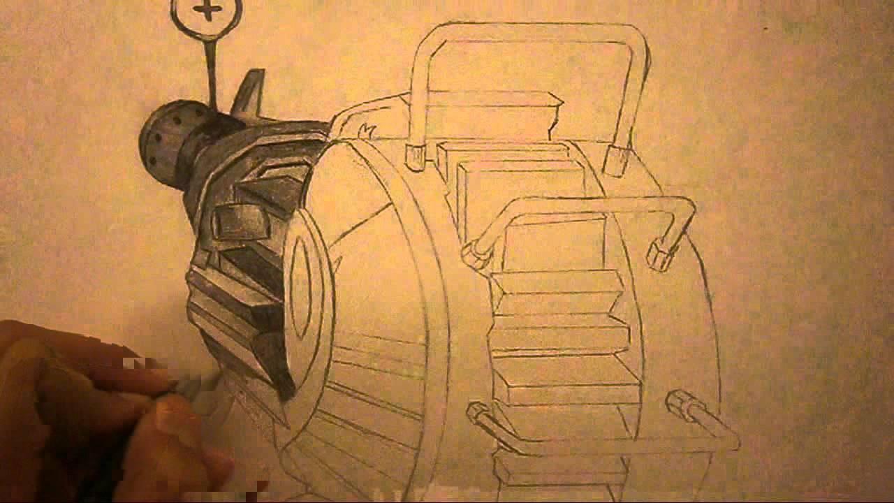 1280x720 Black Ops 2 Ray Gun Speed Drawing