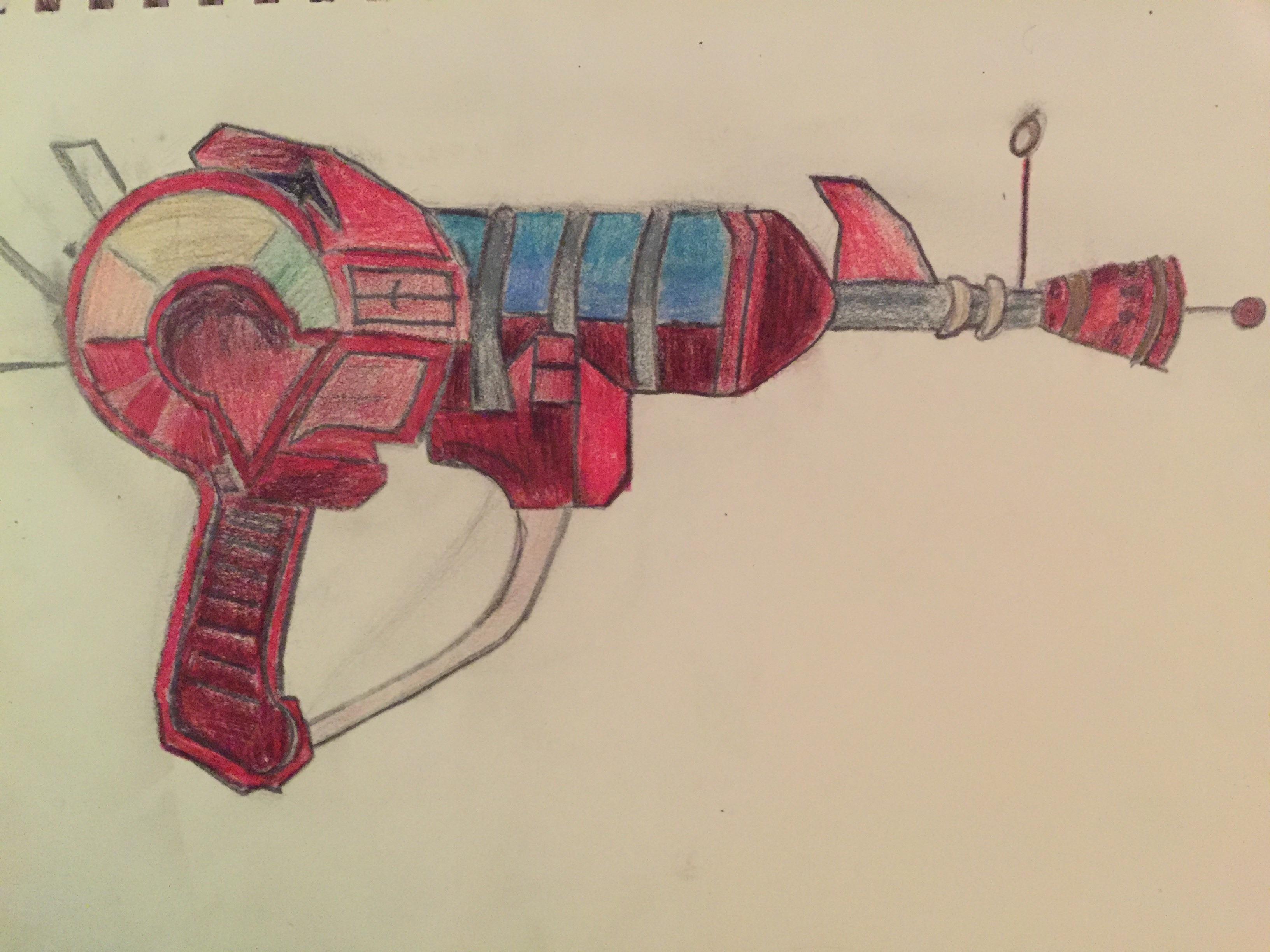 3264x2448 Raygun Drawing I Did Last Year Codzombies