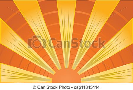 450x306 Abstract Image Of Sunrays Clipart