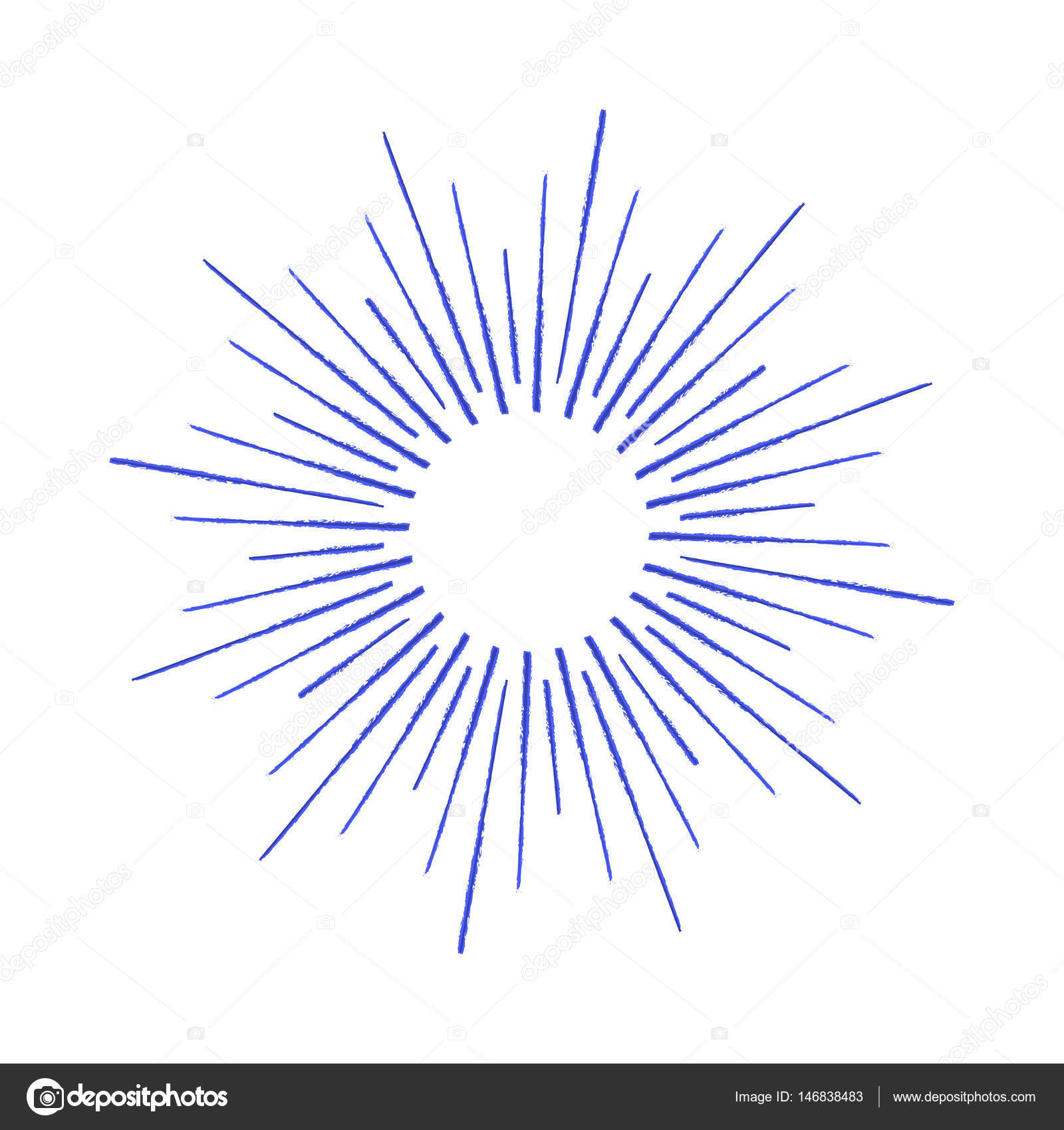 1600x1700 Vector Linear Drawing Of Rays Of The Sun Or Sun Burst By Ink