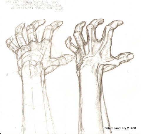 480x457 Reaching Away Hand. By On @
