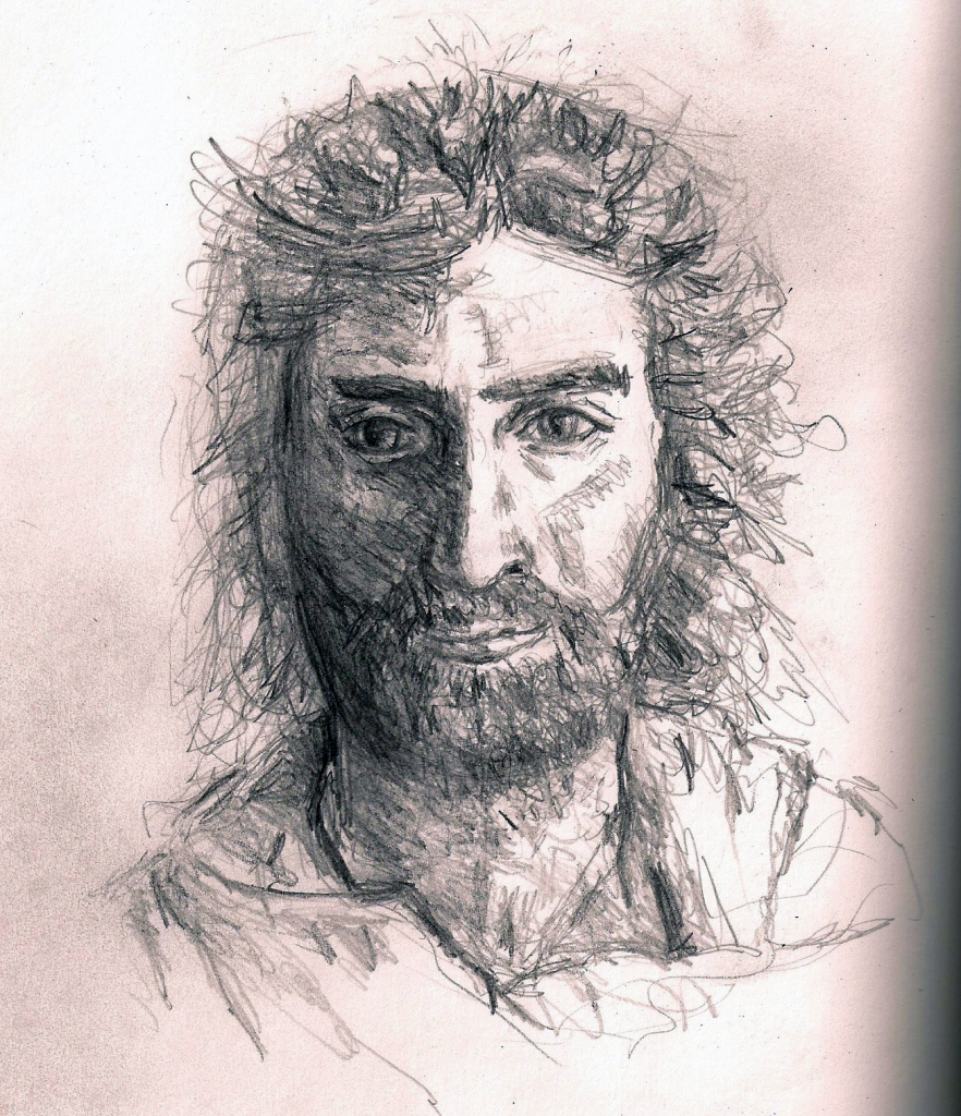 882x1024 Realistic Drawings Of Jesus Real Drawing Of Jesus Jesus Christ