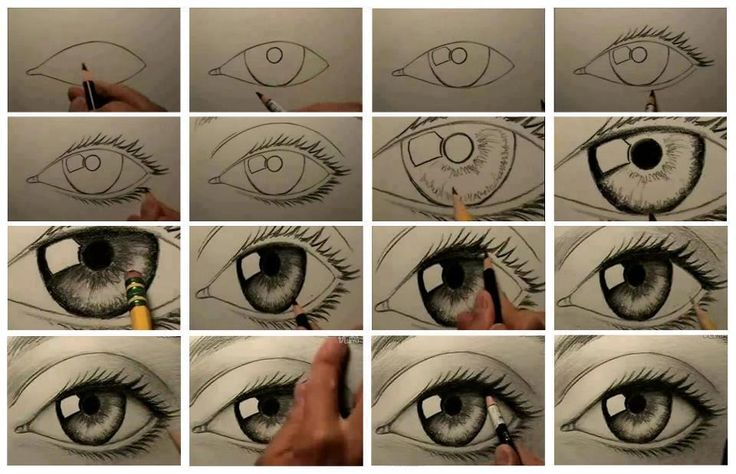 736x474 How To Draw A Real Eye!! Things I Love Realistic