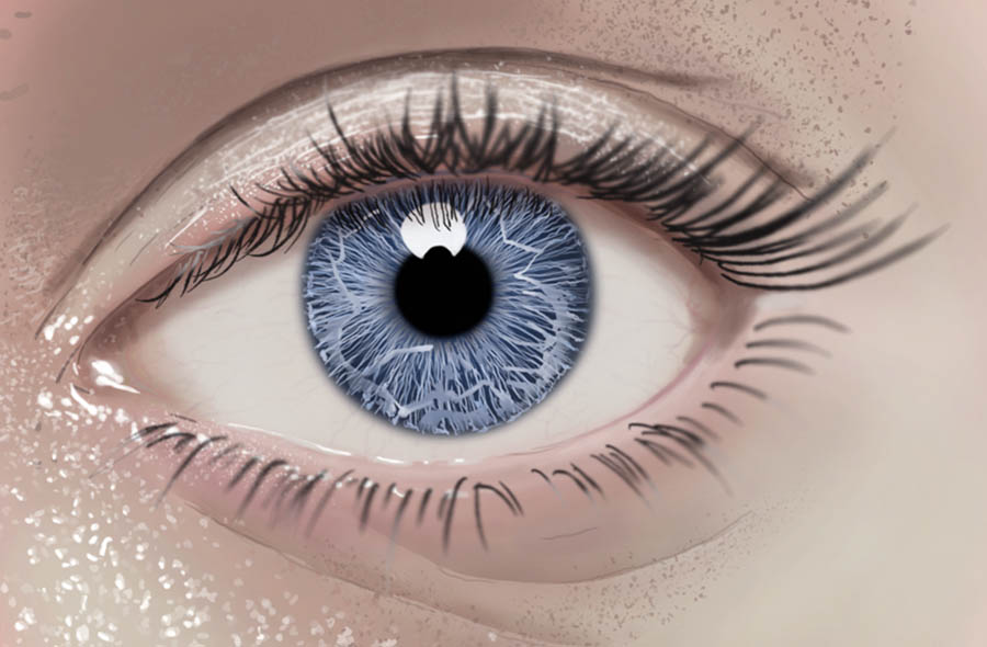 900x590 How To Draw A Realistic Eye