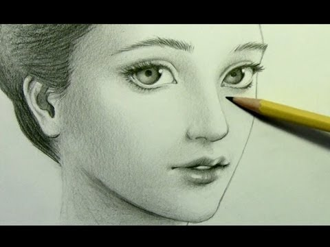 480x360 how to draw a realistic manga face pt 2 shading