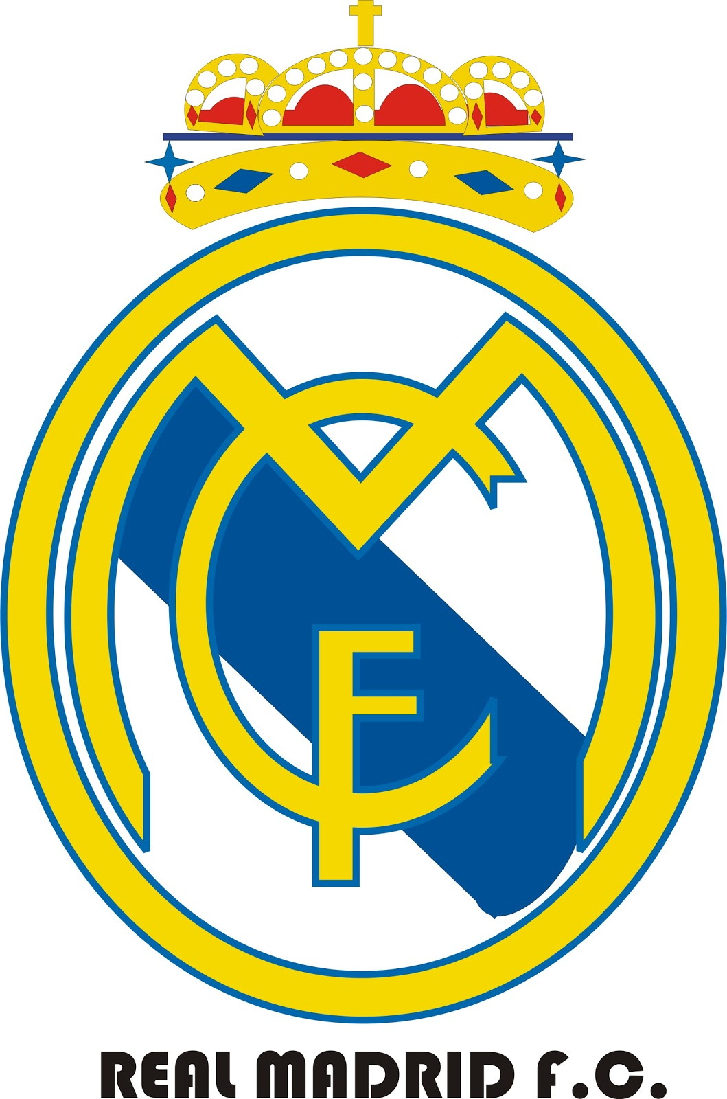 1059x1600 Make Real Madrid Logo