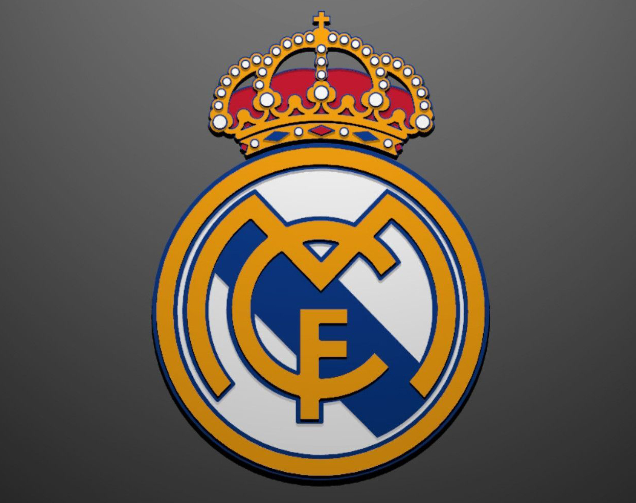 1244x984 Real Madrid Logo, Real Madrid Symbol, Meaning, History And Evolution