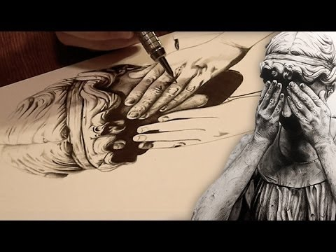 480x360 Drawing Weeping Angels