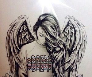 300x250 Photos Realistic Drawing Of Angels,