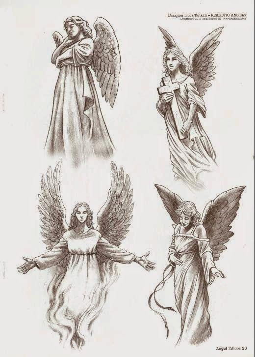 520x726 Tatuajes de ángeles y diseños de regalo Belagoria la web de