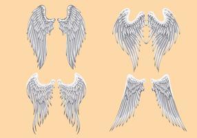 286x200 Free Vector Angel Wings