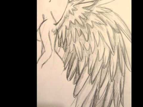 480x360 Tutorial How To Draw Angel Wings