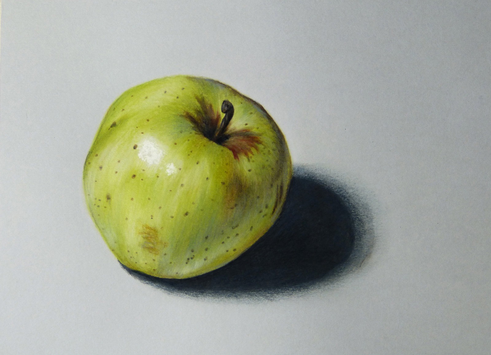 1600x1157 Apple Drawing By Dmartit On Drawing