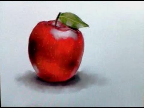480x360 How To Draw A Realistic Apple The Ipad App Artist Corner