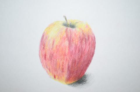 480x318 How To Draw An Easy And Realistic Apple Life In Art