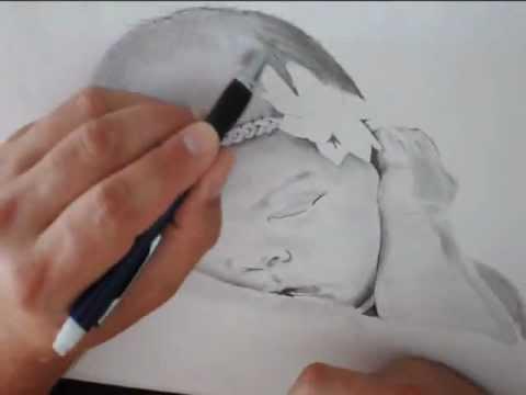 480x360 Realistic Baby Portrait!!