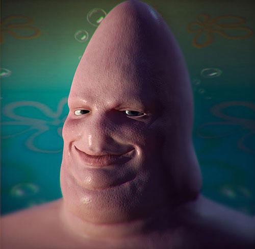 500x488 18 Disturbingly Realistic Cartoon Characters Smosh