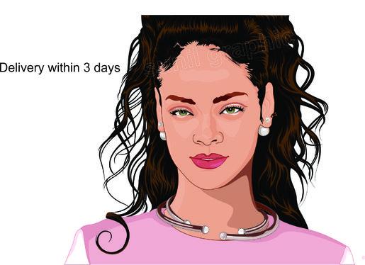 515x374 Draw Your Realistic Cartoon Portrait For Bestsuperlogos