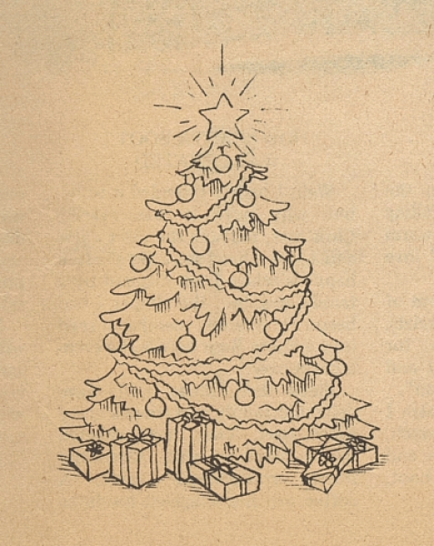 477x600 Drawing A Realistic Christmas Tree Sketches Of Tree With Quotes